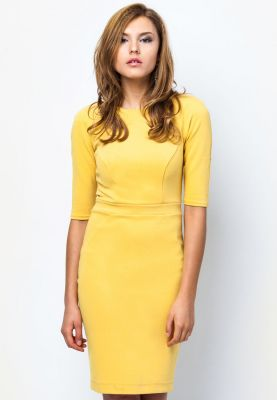 stylehunter zalora yellow dress