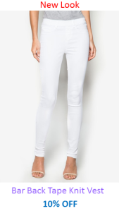 New Look White Jeggings