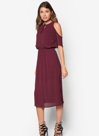 maroon dress 3