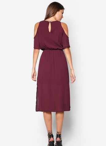 maroon dress 4