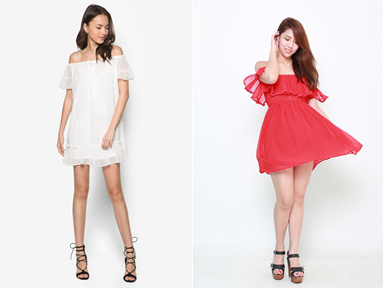 Zalora Off Shoulder Dresses with Discount at CollectOffers