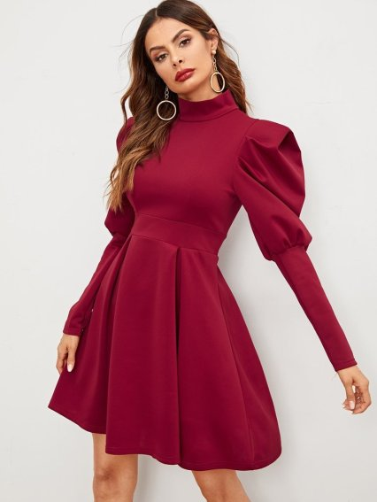 27eb3cf07fb5 Mutton sleeve is another must-opt sleeve trend in 2019. It is basically a  style that features a little poof at the shoulder area while getting narrow  and ...