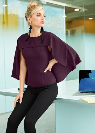 6b972071c5ee Cape sleeve is another absolutely beautiful sleeve trend you must be  looking out in 2019 for sure. The trend is all about lovely drape that  flutters in the ...