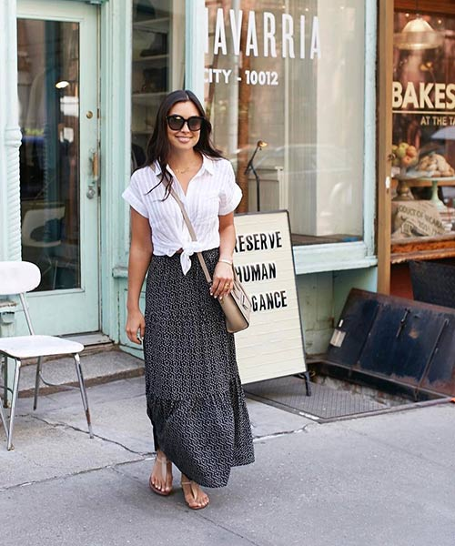 3-Black-Printed-Maxi-Skirt-With-A-White-Shirt.jpg
