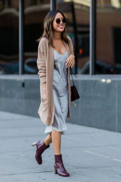 Slip dress silk